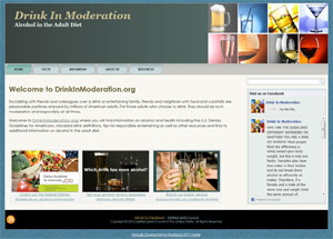 DrinkInModeration.org brought to you by DISCUS