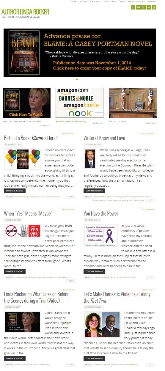 LindaRocker Home Page