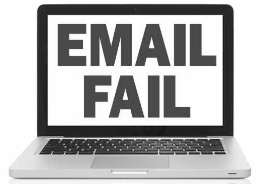 Email Fail