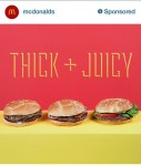 McDonalds Sponsored Instagram Post