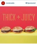 McDonalds Sponsored Instagram Post