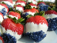 July 4th Strawberries