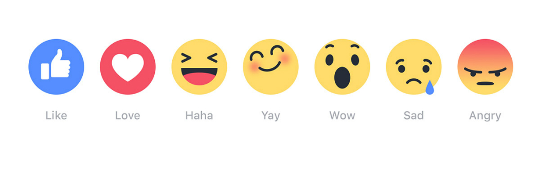 Facebook Rolls Out Post Reactions
