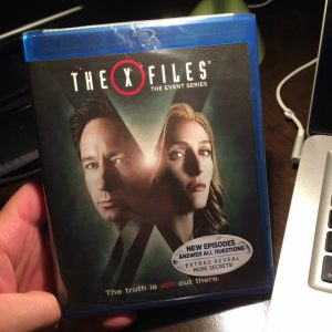 The X-Files The Event Series Blu Ray Front