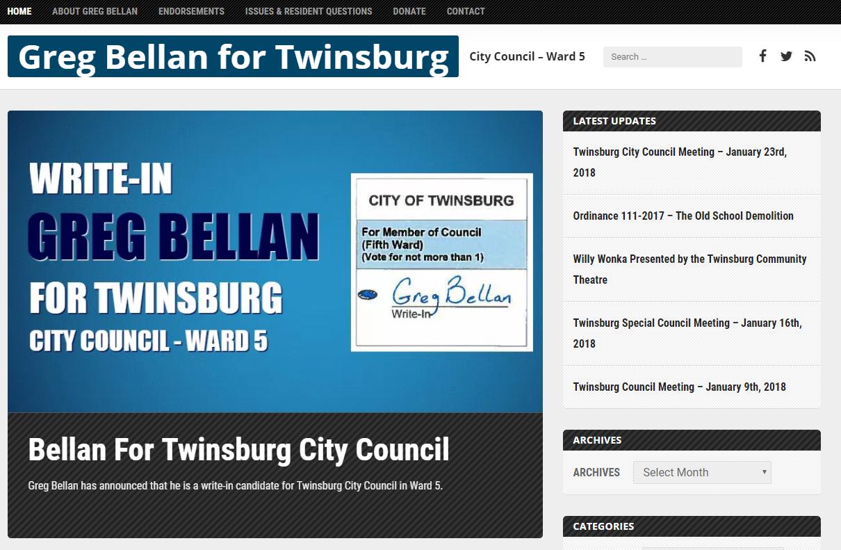 Greg Bellan Twinsburg