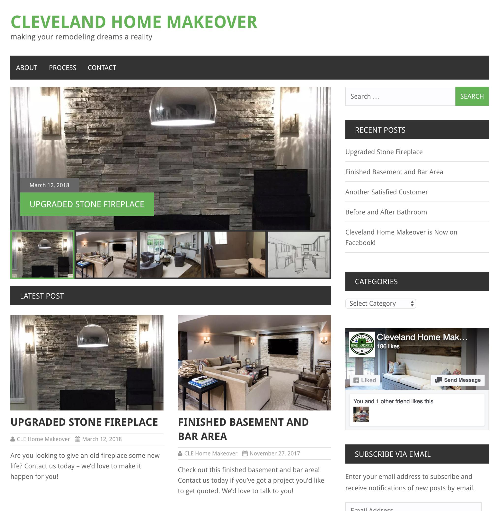 Cleveland Home Makeover
