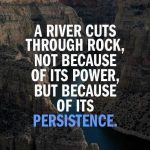 A River Cuts Through Rock Quotes