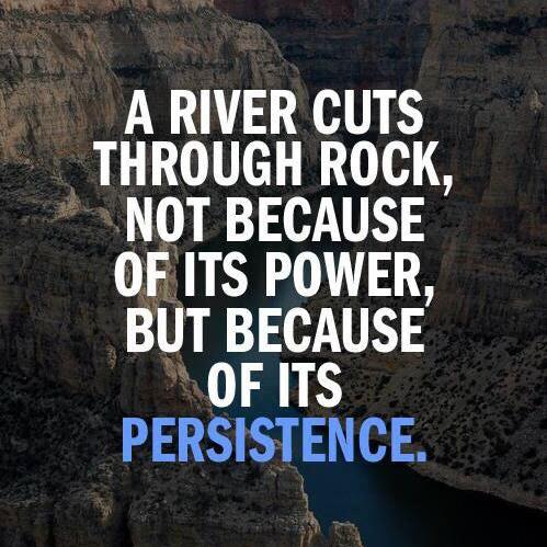 A River Cuts Through Rock Quotes
