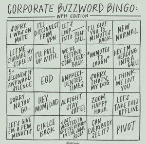 Corporate Buzzword WFH Edition