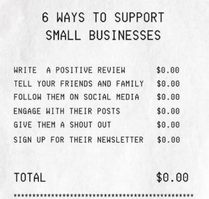 6 Ways To Support Small Business